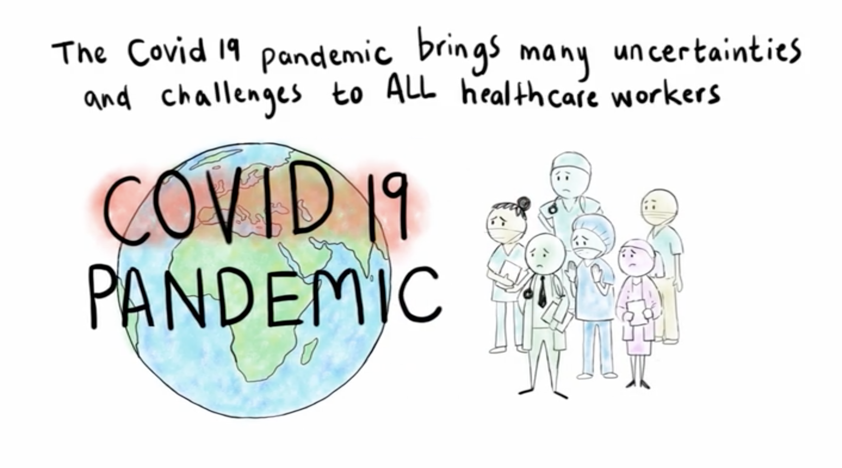UKZN Academics Create Video on Healthcare Worker Anxieties Related to COVID-19
